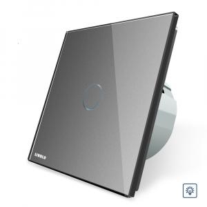 Intrerupator wireless cu variator cu touch Livolo din sticla [4]