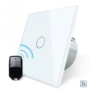 Intrerupator simplu cu touch Livolo, Wireless (Telecomanda inclusa) [1]