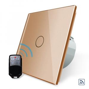 Intrerupator simplu cu touch Livolo, Wireless (Telecomanda inclusa) [3]
