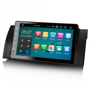 Navigatie auto, Pachet dedicat BMW  Seria 5 E39 E53 X5 M5, 9 inch, Android 10.0, Octa Core [4]