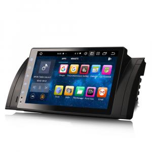 Navigatie auto, Pachet dedicat BMW  Seria 5 E39 E53 X5 M5, 9 inch, Android 10.0, Octa Core [5]