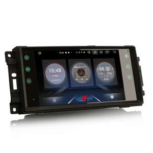 Navigatie auto, Pachet dedicat Jeep Compass Chrysler Dodge, Android 10.0, 7 Inch [9]