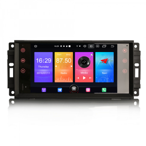 Navigatie auto, Pachet dedicat Jeep Compass Chrysler Dodge, Android 10.0, 7 Inch [0]