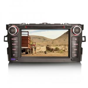 Navigatie auto, Pachet dedicat TOYOTA AURIS COROLLA ALTI,7 inch, Android 10, GPS, WIFI, DAB+,DVD,  2GB RAM, 16GB memorie interna [3]