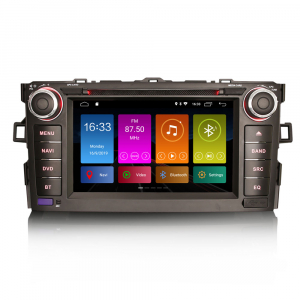 Navigatie auto, Pachet dedicat TOYOTA AURIS COROLLA ALTI,7 inch, Android 10, GPS, WIFI, DAB+,DVD,  2GB RAM, 16GB memorie interna [0]