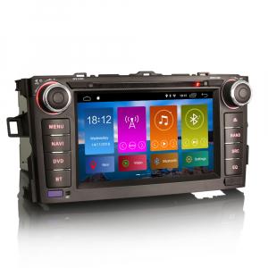 Navigatie auto, Pachet dedicat TOYOTA AURIS COROLLA ALTI,7 inch, Android 10, GPS, WIFI, DAB+,DVD,  2GB RAM, 16GB memorie interna [2]