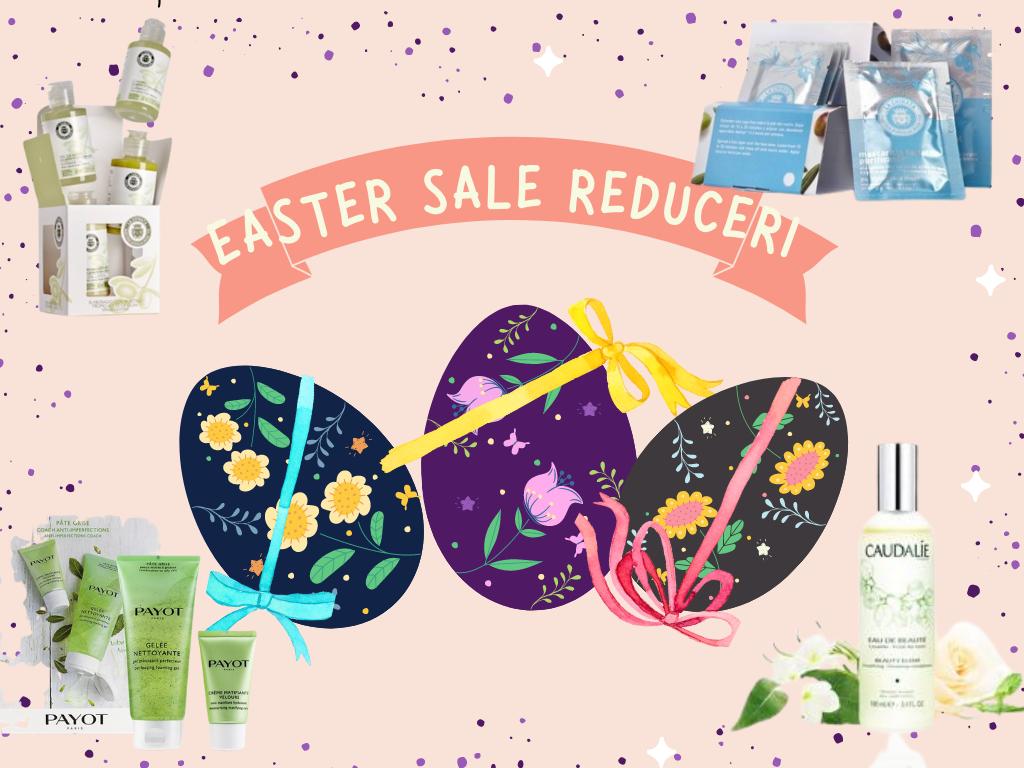 Easter Sale vine cu reduceri de pana la 30%
