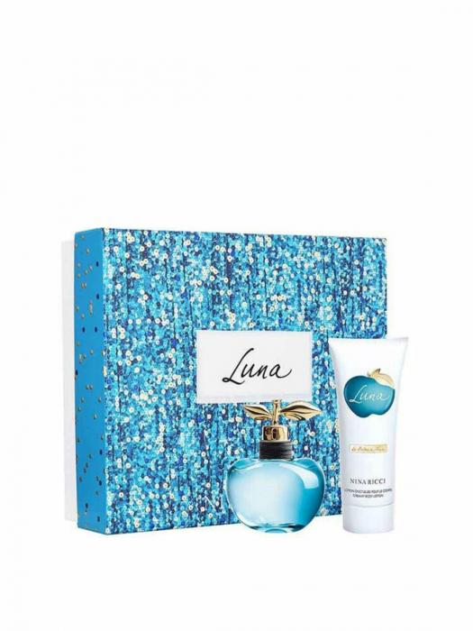 Set parfum Nina Ricci Luna Edt 50 Ml + Body Lotion 75 Ml 0