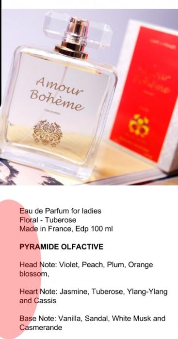 Apa de parfum Amour Boheme 100 ml 3