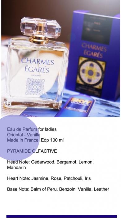 Apa de parfum Charmes Egares 100 ml [1]