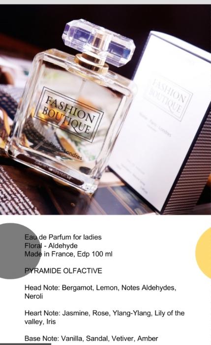 Apa de parfum Fashion Boutique 100 ml 1