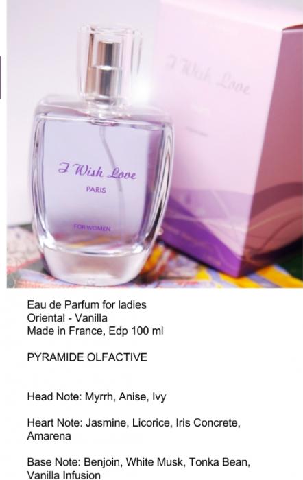 Apa de Parfum I wish love 100ml 2