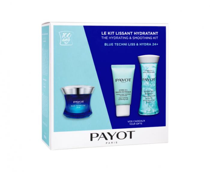 Set ingrijire Blue Techni Liss si Hydra 24+, Payot, 3 buc [0]