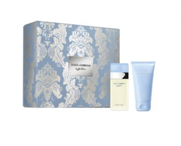 Set Dolce & Gabbana, Light Blue, Femei: Apa de Toaleta, 100 ml + Lotiune de corp, 75 ml + Apa de Toaleta, 10 ml 0