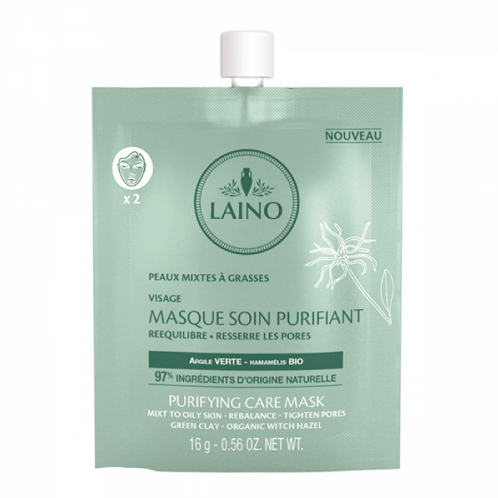 Laino Mască purifiantă pentru ten cu argilă verde 16g [0]