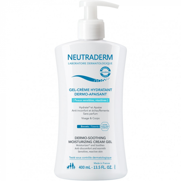 Neutraderm Gel-crema Dermo-calmant 400ml 0