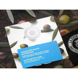Masca pentru fata, purificatoare, cu extract de maslin, 40 ml, La Chinata 1
