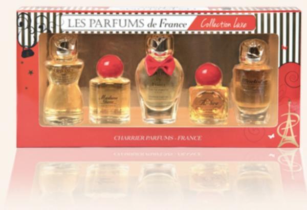 Set miniparfumuri Charrier Collection  Luxe 0