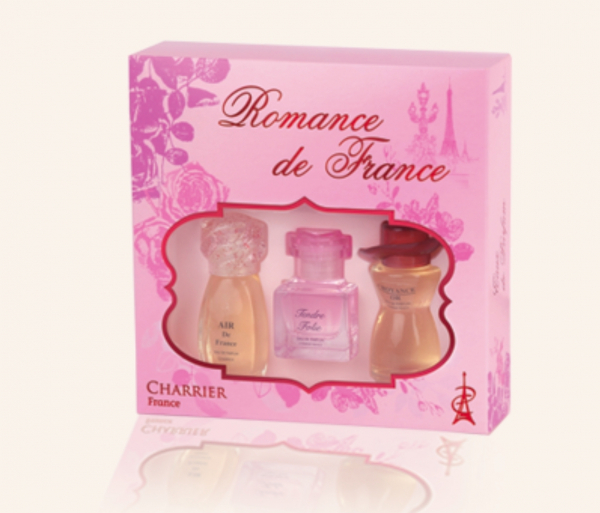 Set miniparfumuri Romance de France 2