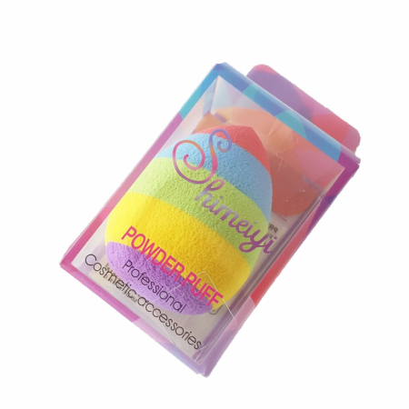 Buretel Powder Puff Rainbow [1]