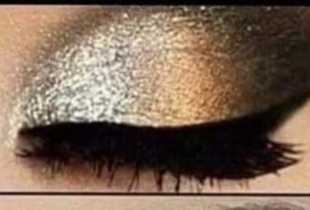 Fard de ochi in doua culori perlate3