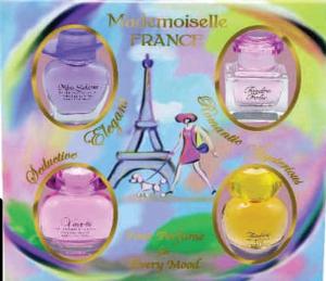 Set miniparfumuri Mademoiselle France [0]