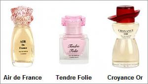 Set miniparfumuri Romance de France1