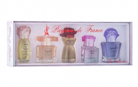 Set miniesente parfums de France La collection0
