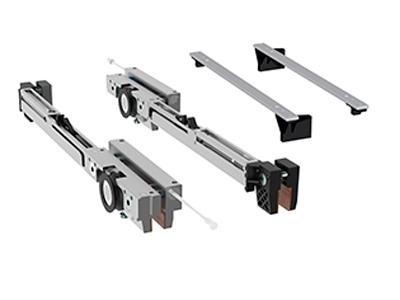 Set carucioare Compact-X70 cu amortizoare inchidere/deschidere 0