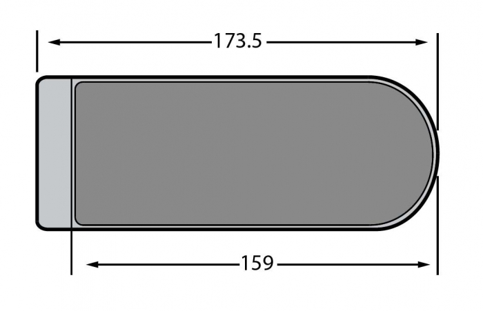 Contrabroasca Dorma Studio Rondo usa sticla 8-10 mm [2]