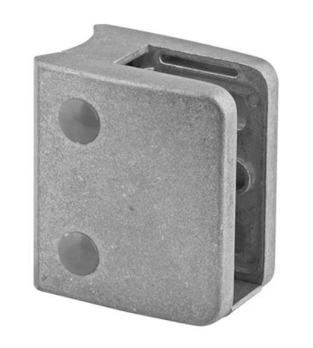 Clema MOD 24 fixare pe rotund pentru montant balustrada sticla 9,52-17,52 mm 0