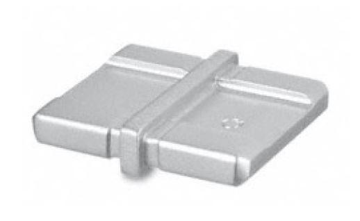 Imbinare 180° mana curenta rectangulara 40x10 mm 0