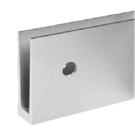 Profil U balustrada Easy Glass® Eco fixare laterala 0