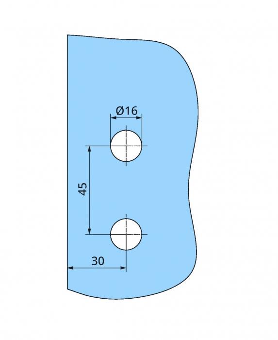 Balama Atelier F/R usa sticla 8-10 mm 3