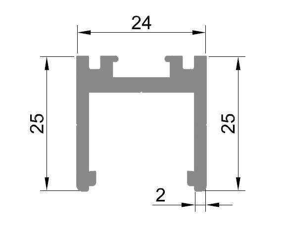 Profil monobloc superior 1