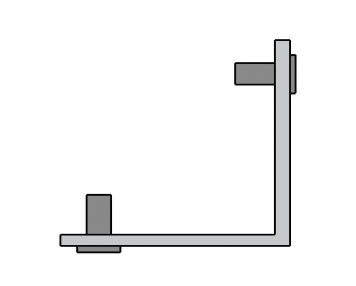 Coltar imbinare profil toc Dorma Alexa 45 [0]