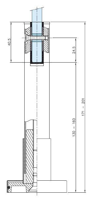 Picior reglabil compartimentare toaleta [1]