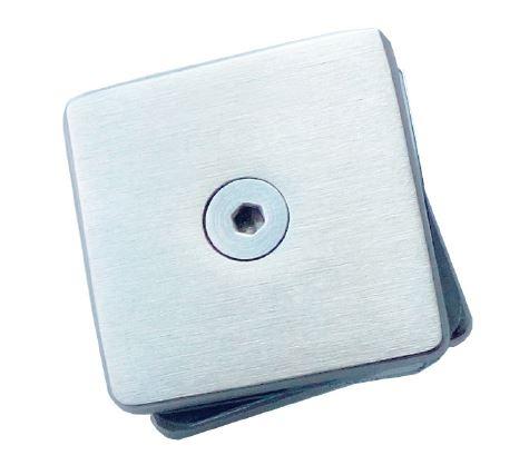 Conector patrat aliniere sticla 40x40 mm 0