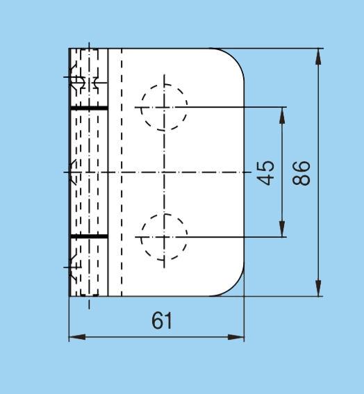 Balama incadrata Dorma Junior Office usa sticla 8-10 mm [2]