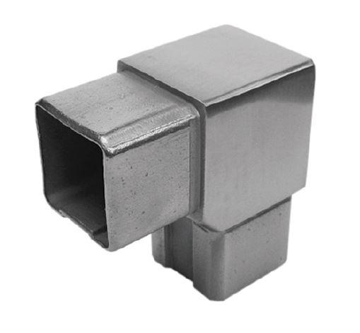 Imbinare 90° mana curenta patrata 40x40 mm [0]