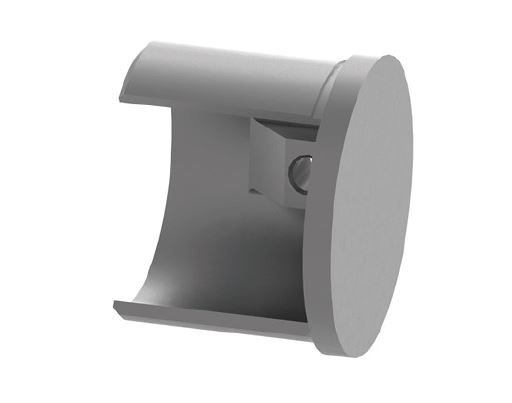 Capac capat mana curenta profilata Ø42,4 mm 0
