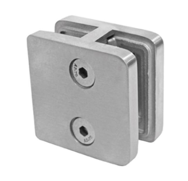 Clema dubla 60x60x28 mm fixare pe teava rotunda/rectangulara [0]