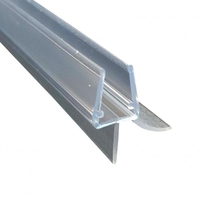 Garnitura ultraclara cu banda pe mijloc 11 mm cabina dus sticla 8 mm 0