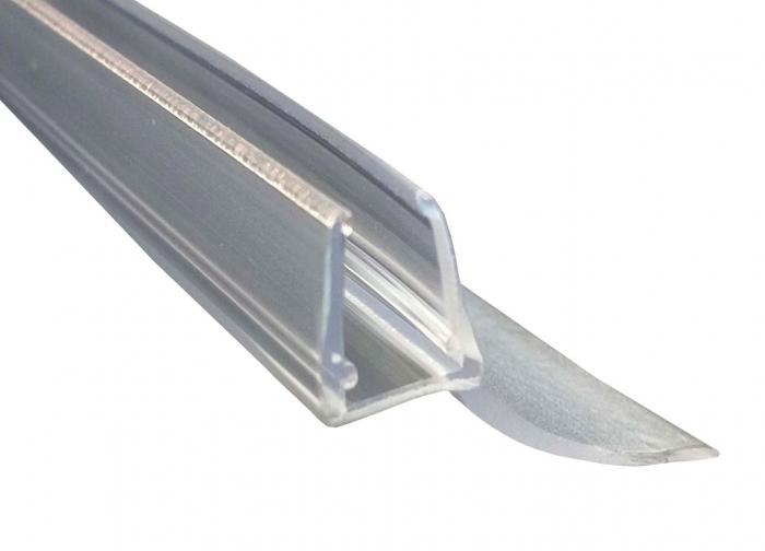 Garnitura ultraclara cu banda flexibila cabina dus sticla 8 mm 0