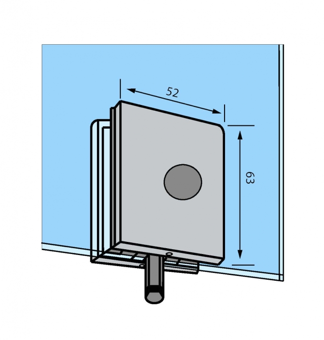 Zavor inferior/superior cu buton GL 52 1