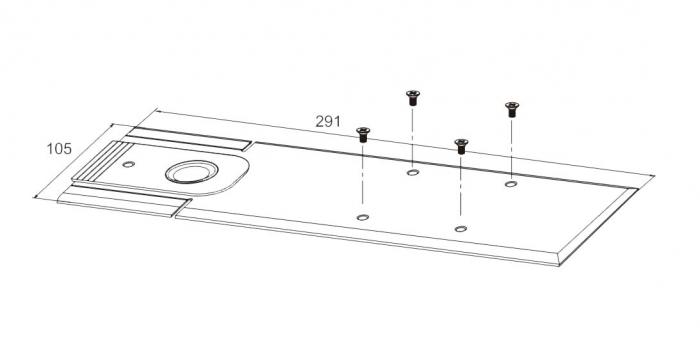 Amortizor pardoseala blocare la 90° EN 1-4 GTS 750 V 2