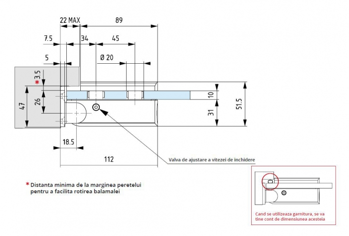 Kit sauna balama hidraulica Biloba 1