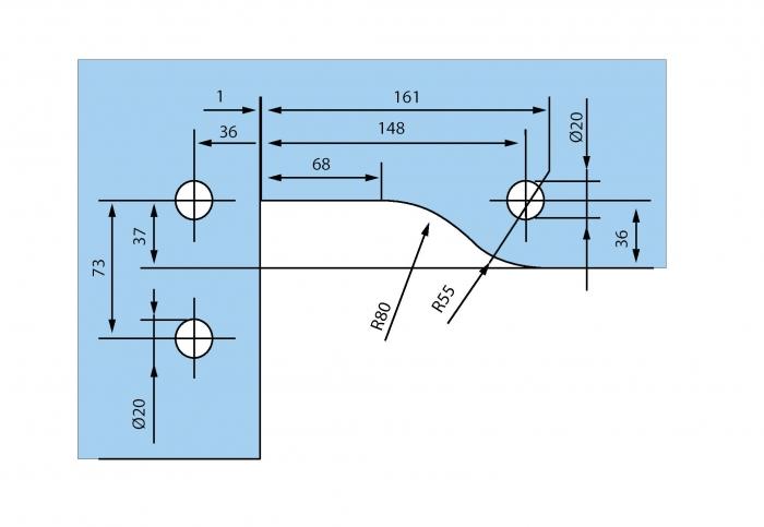 Balama coltar supralumina PT 40 - Dorma Mundus Comfort 2