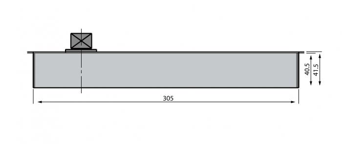 Amortizor pardoseala 100 kg EN3 2