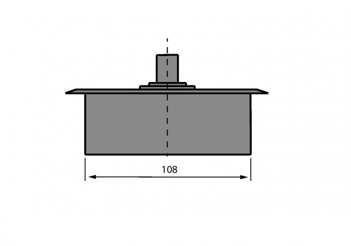 Amortizor pardoseala 100 kg EN3 3